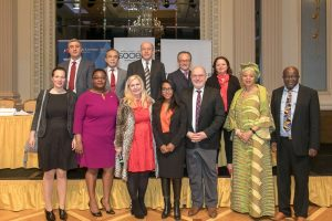 Ambassadors Breakfast Meeting in Vienna on 27 March 2019: Africa China Europe and One Belt, One Road